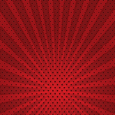 Vector abstract background of red star burst .vector Illustration