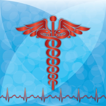 Abstract medical background  - vector Vector