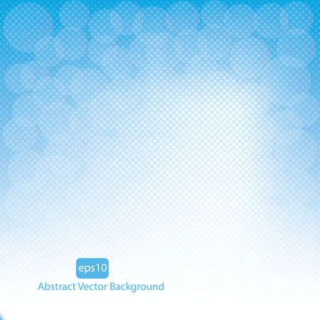 sky background: Blue vector abstract background.vector Illustration