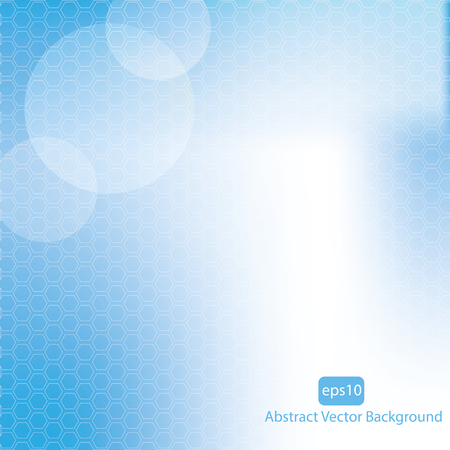 Blue vector abstract background.vector Vector