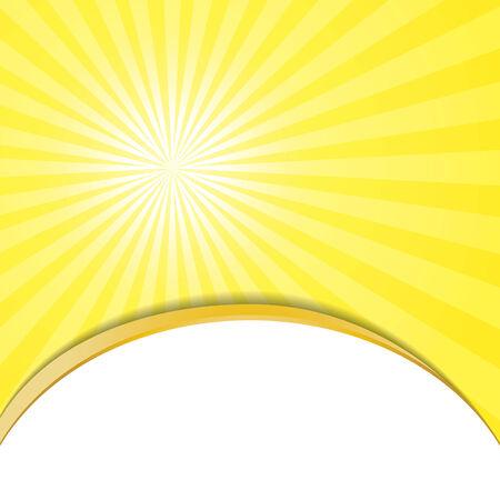 Sunburst Pattern. Radial background.vector Vector