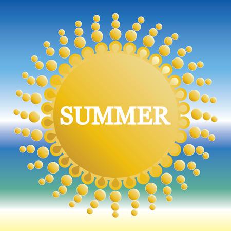 Summer Background .vector Vector