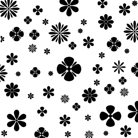 Flower Vector Black and White.vector Vector