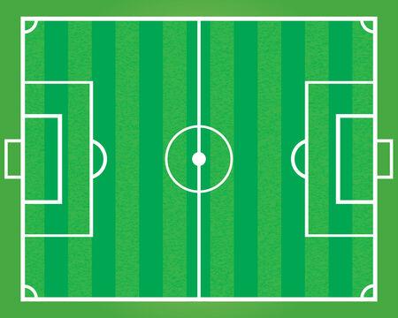 sideline: Campo de f�tbol.