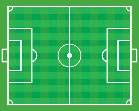 soccer field: Soccer field .