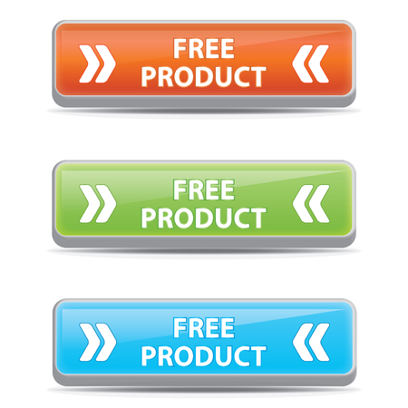 Free product  buttons.vector.eps10 Vector
