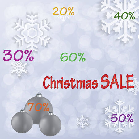 Christmas sale background .vector.eps10