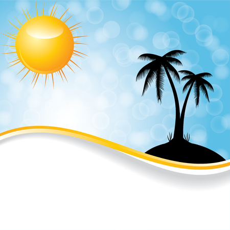 temperate: Abstract summer background.vector