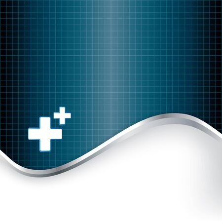 medical symbol: Abstract medical background with medical symbol.  Illustration