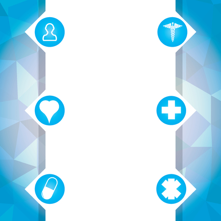 Abstract  medical background Illustration