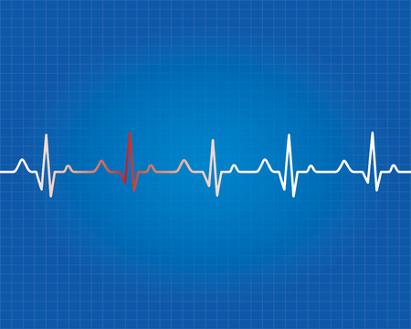 Abstracte medische achtergrond Vector Illustratie