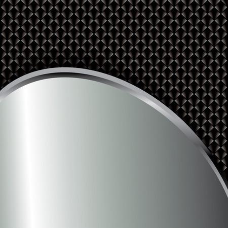 metallic: Abstract background, metallic brochure, vector Illustration