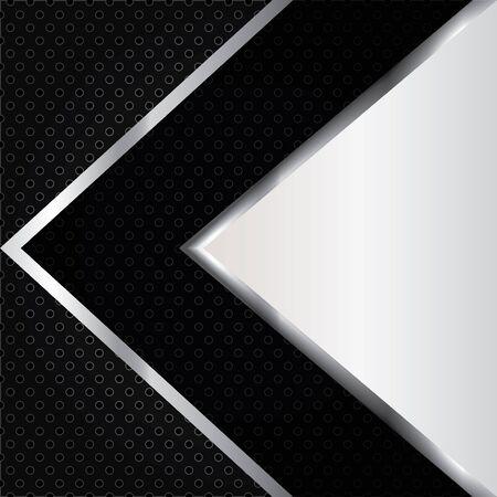 metallic background: Abstract background, metallic brochure, vector Illustration