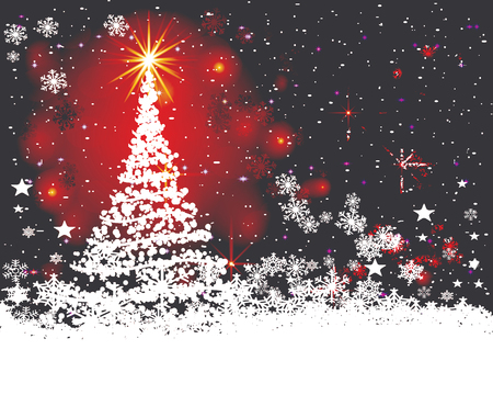 Abstract christmas background.eps10.vector
