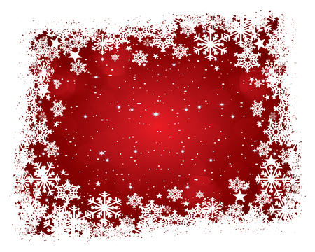 Abstract christmas background.eps10 vector Çizim