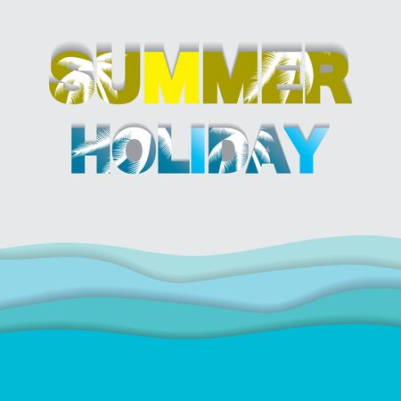 Abstract summer background.vector.eps10