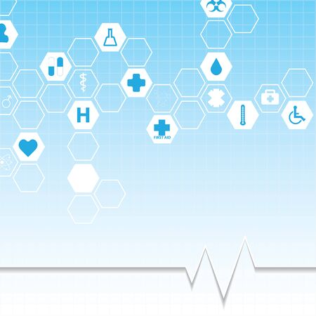 Abstract medical background.vector Illustration
