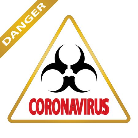 Coronavirus 2019-nCoV. Corona virus icon. Black on white background isolated. pathogen respiratory infection (asian flu outbreak). influenza pandemic. virion of Corona-virus. Vector