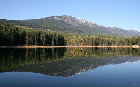 Cedar Lake, Golden, BC, (Canadas Rocky Mountains)