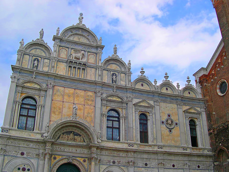 clock of the moors: The Frati in Venice Italy
