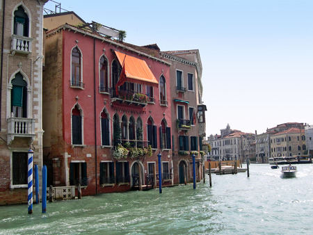 clock of the moors: The Grand Canal in Venice Italy