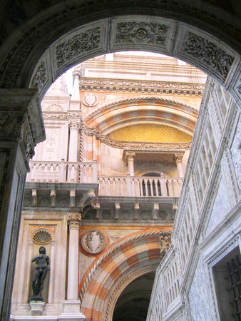 clock of the moors: Doges Palace in Venice Italy Editorial