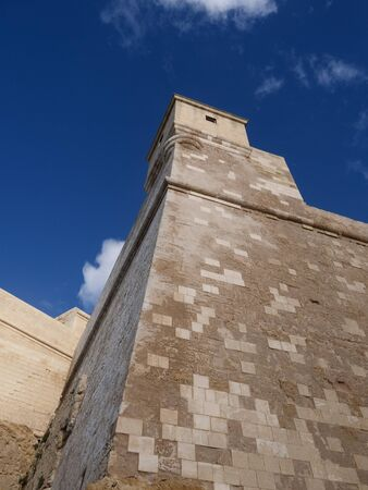 citadel: The citadel on the Maltese Island of Gozo