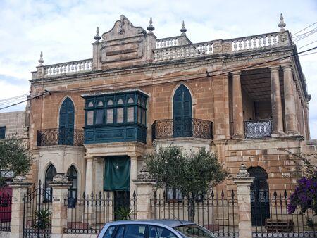 slipway: Building in Marsaxlokk Malta
