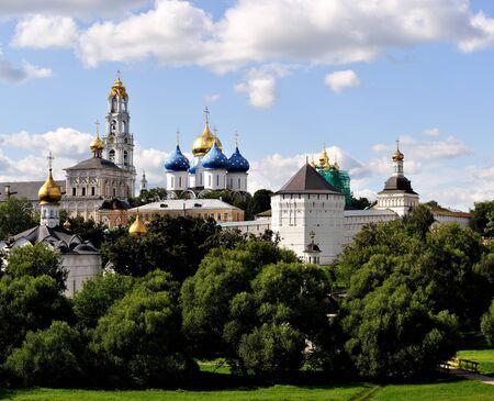 Sergiev Posad monastery (lavra) 版權商用圖片