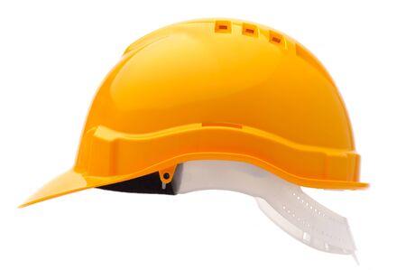 Hard hat, isolated on white background photo