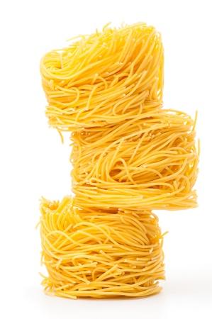 Fresh unprepared noodles