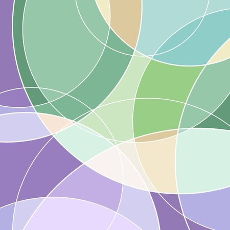 Backgrounds and textures: abstract geometric pattern in soft pastel colours 版權商用圖片