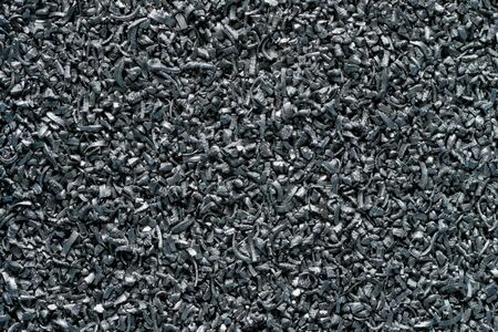 Pile of metal sawdust, industrial waste, close-up shot, abstract background
