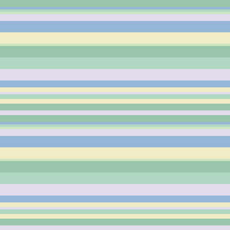 Pastel green and yellow horizontal parallel lines background, seamless pattern