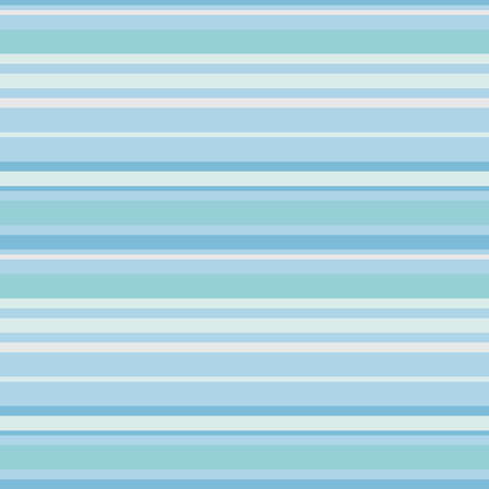 Pastel cyan, blue and green horizontal parallel lines background, seamless pattern