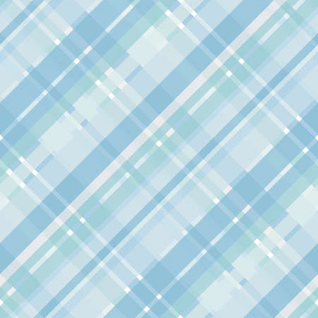 Cyan and blue crisscross lines, abstract checkered pattern