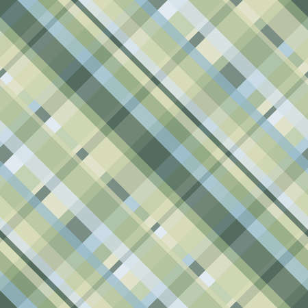 Cyan, yellow and green crisscross lines, abstract checkered pattern