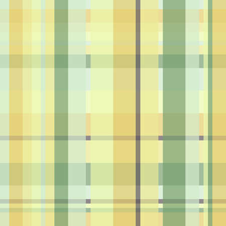 Yellow and green crisscross lines, abstract checkered pattern 版權商用圖片