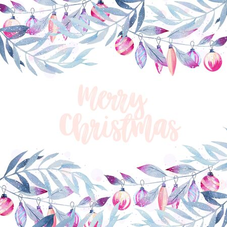 Christmas card, greeting card Banco de Imagens