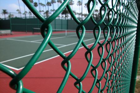 fence: Tennis Court Fence