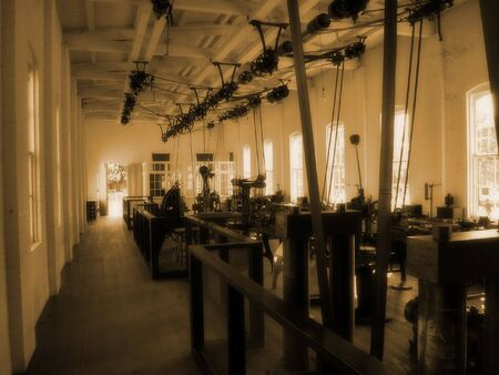 factory machine: Old Factory Machine Hall