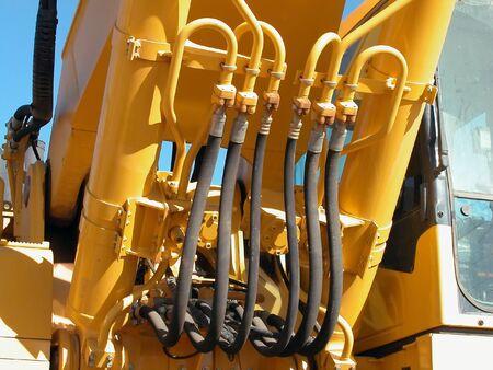 hydraulic lift: Hydraulic Lines