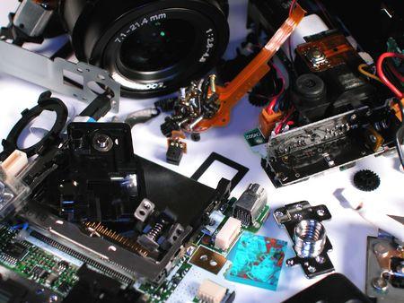 Broken Digital Camera photo