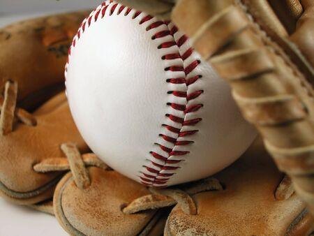 Baseball and Mitt-Horizontal photo