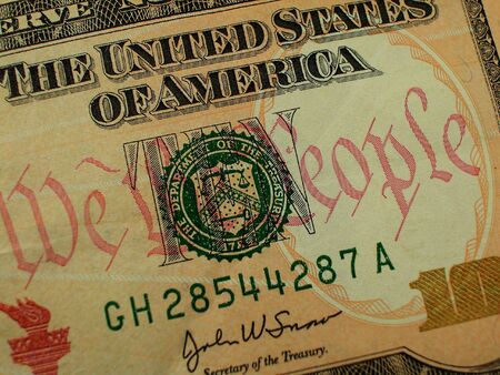 greenback: Ten Dollar Bill-We the People