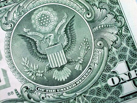 greenback: One Dollar Bill-Great Seal-Eagle