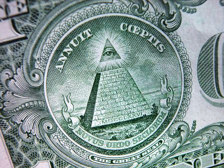 greenback: One Dollar Bill-Great Seal-Pyramid
