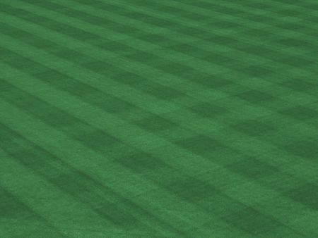 mow: Major League Turf with Mow Pattern