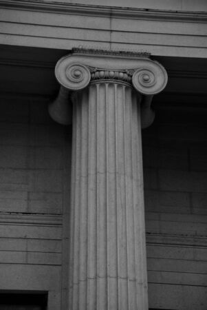 Classical Roman Column with Capital