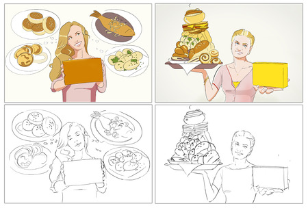 storyboard: Food commercial storyboards